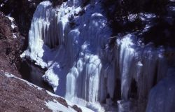 Ice Box Canyon in the winter Photo