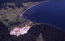 Aerial of Heart Lake Image