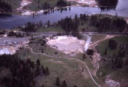 Aerial view of Mud Volcano Image
