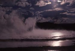 Great Fountain Geyser - Midway & Lower Geyser Basin Photo