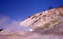 Sulphur Spring (also known as Crater Hills Geyser), Crater Hills area, Hayden Valley - Mud Volcano area Photo