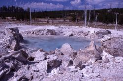 Porkchop Geyser - Norris Geyser Basin Photo