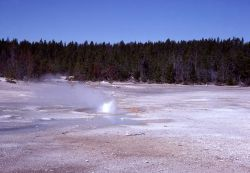 Orbicular Geyser - Norris Geyser Basin Photo