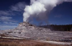 Castle Geyser - Upper Geyser Basin Photo