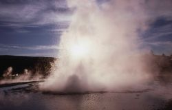 Sawmill Geyser - Upper Geyser Basin Photo