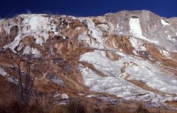 Jupiter Terrace & Spring - Mammoth Hot Springs Photo