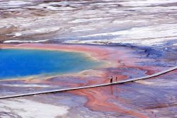 Grand Prismatic Spring - Hot Springs, Midway & Lower Geyser Basin Photo