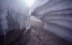 Ice cave - Lone Star Geyser Photo