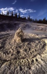 Crater Hills Mud Pool - Mud Pots, Mud Volcano area Photo