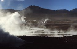 El Tatio, Chile Photo