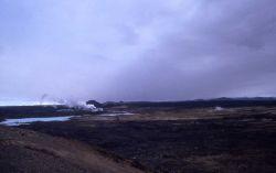 Iceland - small thermal field near Kaflavik Photo