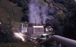 The Geysers - Sonoma Co., California - steampipe to geothermal plant Photo