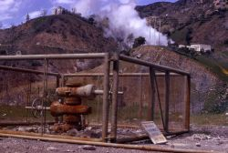 The Geysers - Sonoma Co., California - Inactive steam well Photo