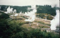 Power plant in New Zealand Photo