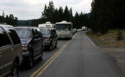 Traffic jam at Buffalo Ford Photo