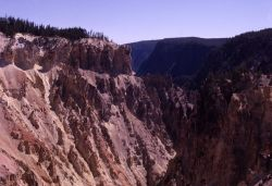 Grand Canyon of Yellowstone as seen from Artist Point Photo