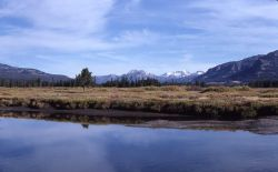 Yellowstone River near Thorofare ranger station Photo