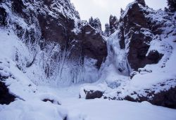 Tower Fall in the winter Photo