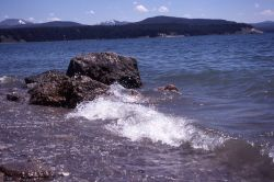 Yellowstone Lake as seen from Storm Point Photo
