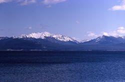 Yellowstone Lake & the Absaroka Mountain Range Photo