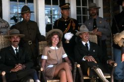 Dedication of the Museum of the National Park Ranger at Norris (historical ranger uniforms) Photo