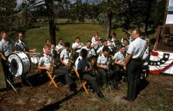 Dedication of the Museum of the National Park Ranger at Norris (America's Corp Army band) Photo