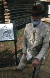 Dedication of the Museum of the National Park Ranger at Norris (Lee Whittlesey as PW Norris) Photo