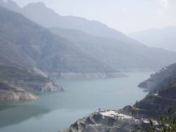 Tehri Dam, Uttarakhand Photo