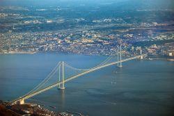 Akashi Kaikyo/Pearl Bridge - Japan Photo