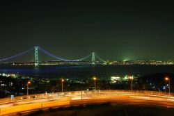 Akashi Kaikyo/Pearl Bridge - Japan Photo