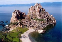 Lake Baikal - Russian Region of Siberia Photo