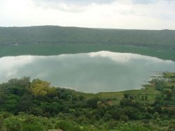 Lonar Crater Lake Photo