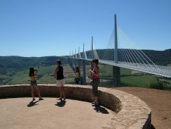 The Millau Viaduct - France Photo
