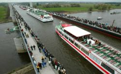 The Magdeburg Water Bridge -Germany Photo
