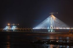 Bandra-Worli Sea Link, Mumbai Photo