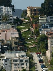 Lombard street - California Photo