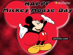 Happy Birthday Mickey Mouse - Happy Mickey Mouse Day Photo