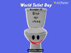 World Toilet Day - November 19 Photo