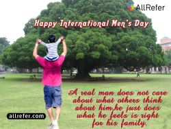 Happy International Men's Day Photo