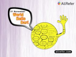 World Hello Day - 21 November Photo