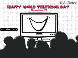 Happy World Television Day - November 21 Photo