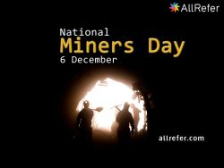 National Miner's Day - 6 December Photo