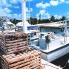 Stone crab pots and fishing boats work out of small inlets in the Florida Keys. Photo
