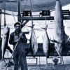 Swordfish (Tetrapturus), yellowfin tuna, and yellowtail, caught with rod and reel at Santa Catalina Island Photo