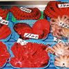 Live octopus for sale at the Shiogama market in Japan. Photo