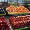 A close-up of some of the glorious fruits at an open-air produce market at Pier 39 near Fisherman's Wharf. Photo