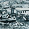 Tsunami damage at Kodiak Photo