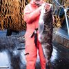 Ling cod caught off Biorka Island, Sitka Sound Photo